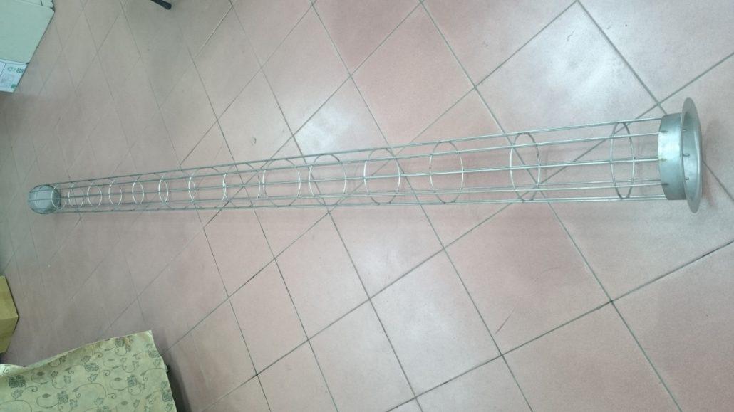 集塵機 布管 支架籠